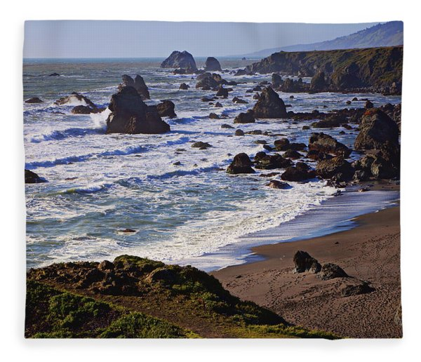 California Coast Sonoma Fleece Blanket