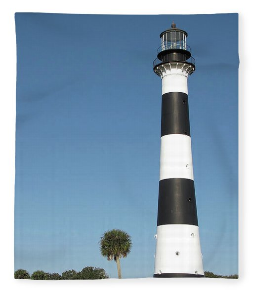 Cape Canaveral Lighthouse  Fleece Blanket