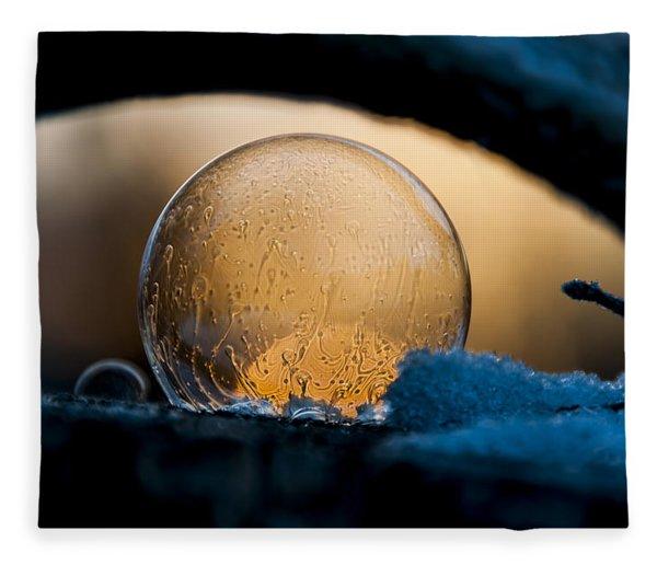 Captured Sunrise Fleece Blanket