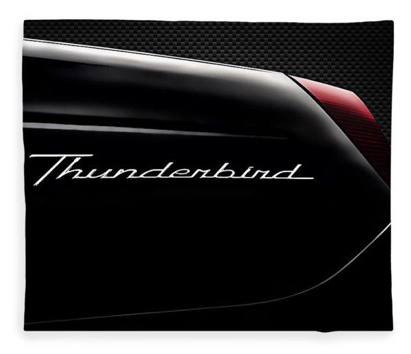 Carbon Black Thunder Fleece Blanket