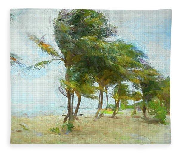 Caribbean Getaway Fleece Blanket