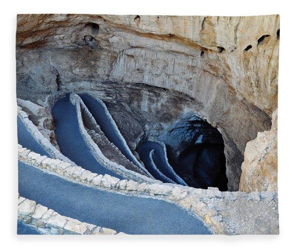 Carlsbad Caverns Natural Entrance Fleece Blanket