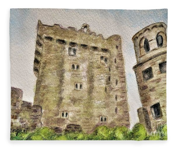 Castle Blarney Fleece Blanket