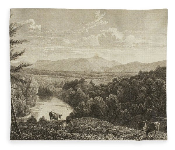 Catskill Mountains Fleece Blanket