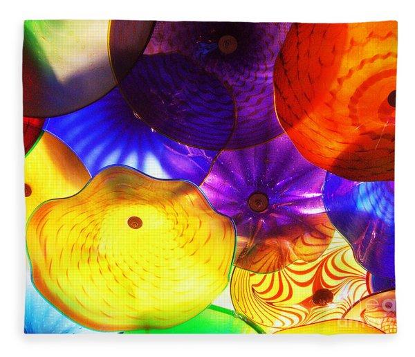 Celestial Glass 3 Fleece Blanket