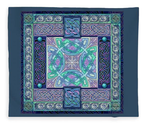 Celtic Atlantis Opal Fleece Blanket