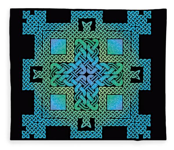 Celtic Castle Fleece Blanket