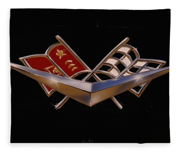 Chevy Flags  Fleece Blanket