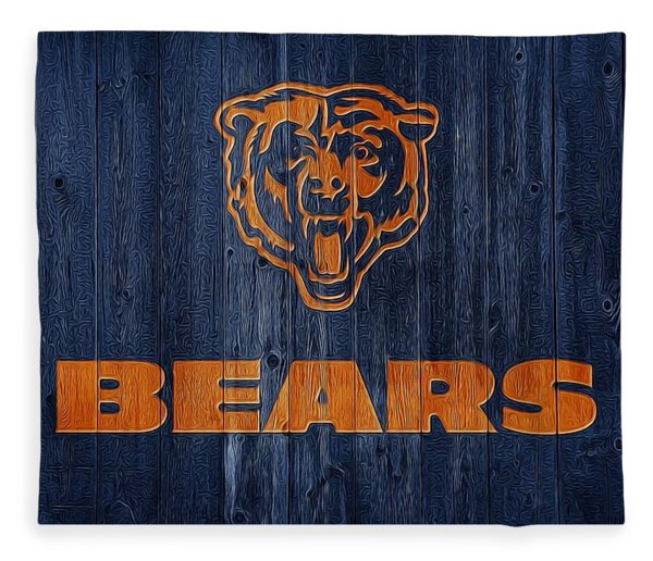 Chicago Bears Barn Door Fleece Blanket