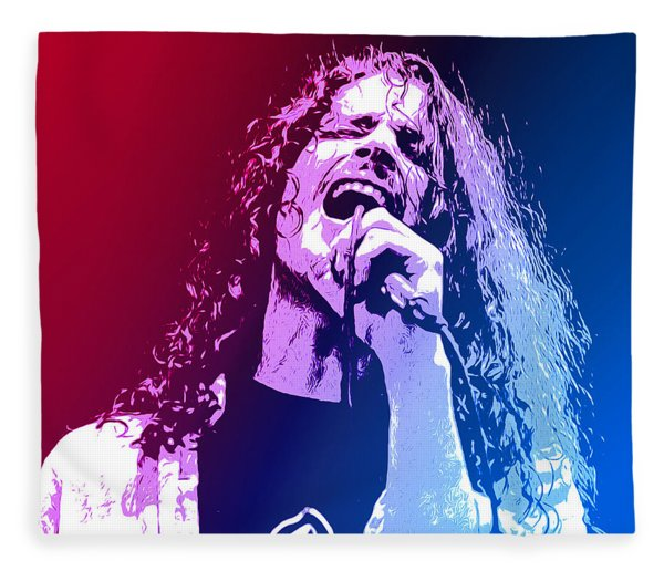 Chris Cornell 326 Fleece Blanket