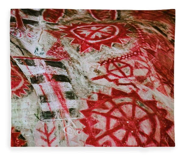 Chumash Painted Cave State Historic Park Fleece Blanket
