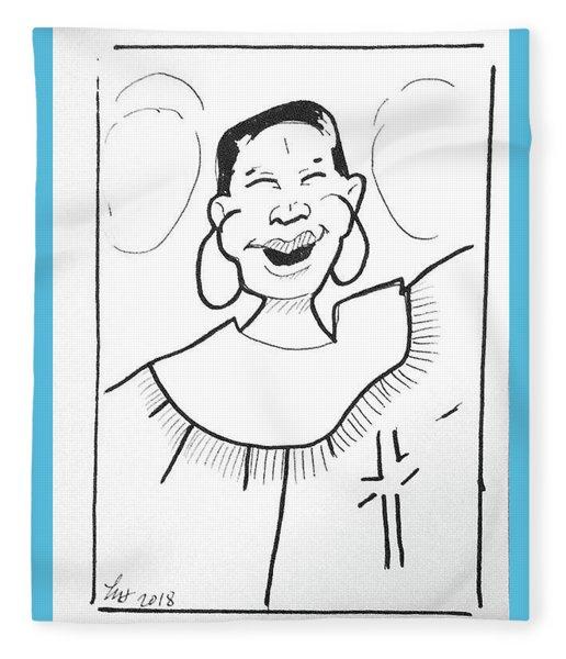 Church Lady 2 Fleece Blanket