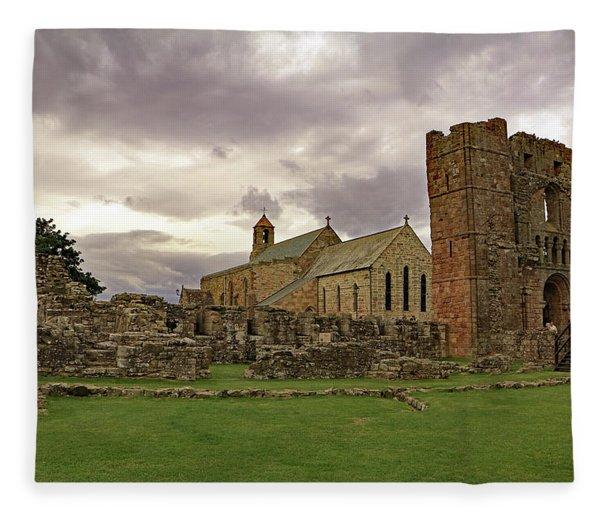 Church Of Saint Mary The Virgin Fleece Blanket