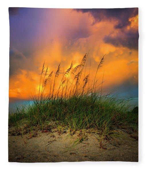 Cloud Colors Fleece Blanket