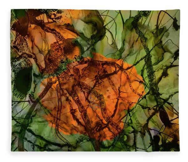 Color Abstraction Xx Fleece Blanket