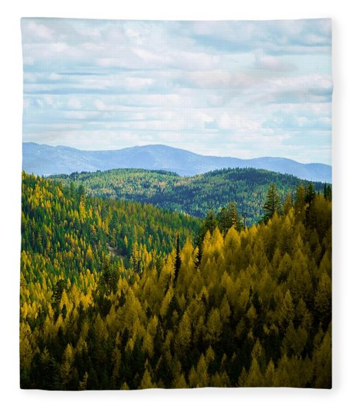 Colors Of Sherman's Pass Fleece Blanket