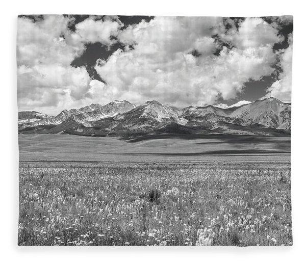 Copper Basin Meadows Fleece Blanket