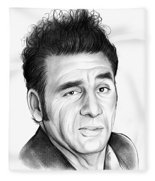 Cosmo Kramer Fleece Blanket