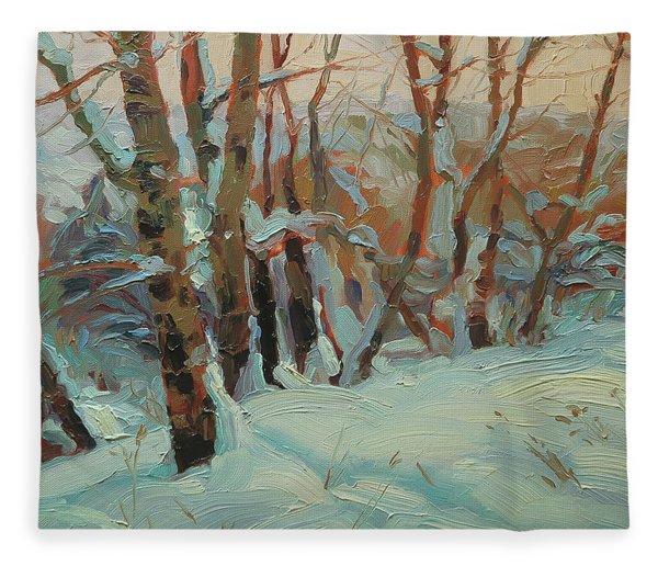 Cottonwood Grove Fleece Blanket