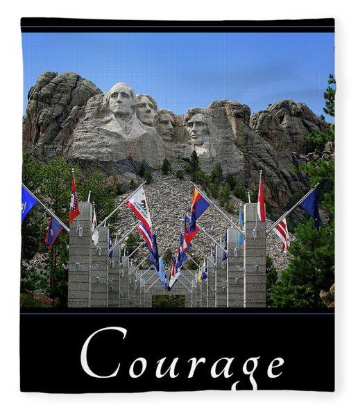 Courage Fleece Blanket