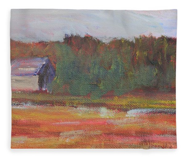 Cranberry Cove Fleece Blanket