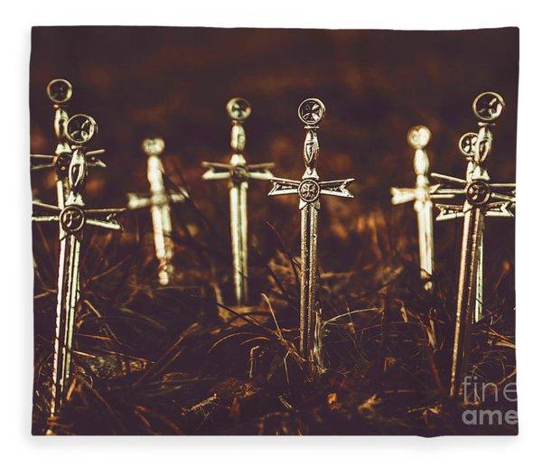 Crusaders Cemetery Fleece Blanket