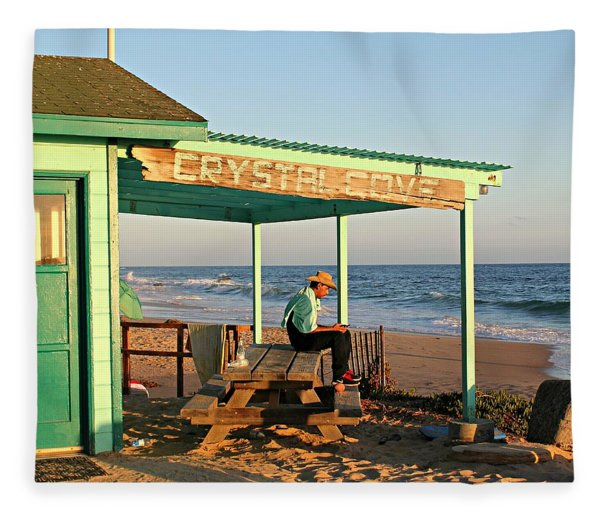 Crystal Cove Fleece Blanket