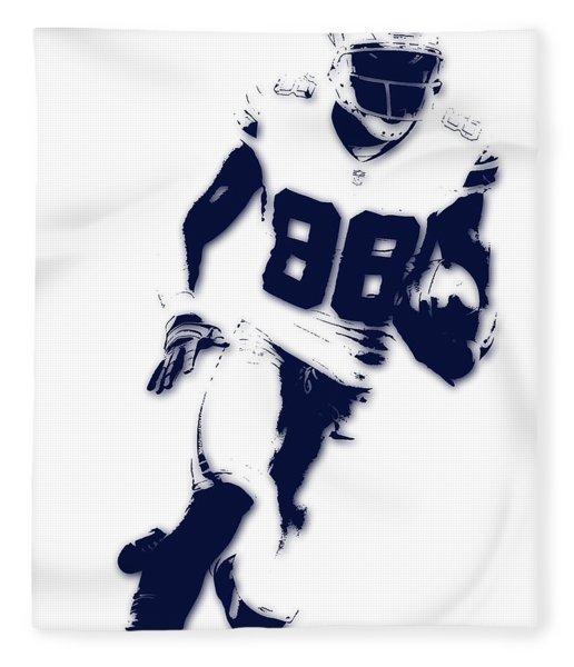 Dallas Cowboys Dez Bryant Fleece Blanket