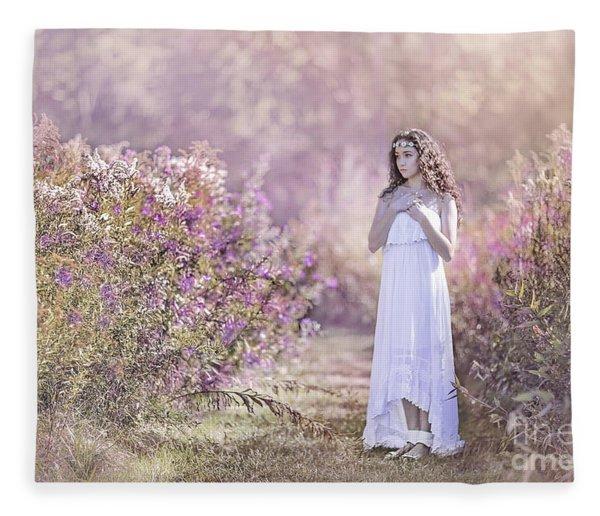 Dance Of The Sugar Plum Fairy Fleece Blanket