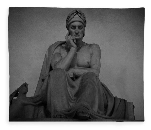 Dante Alighieri Fleece Blanket