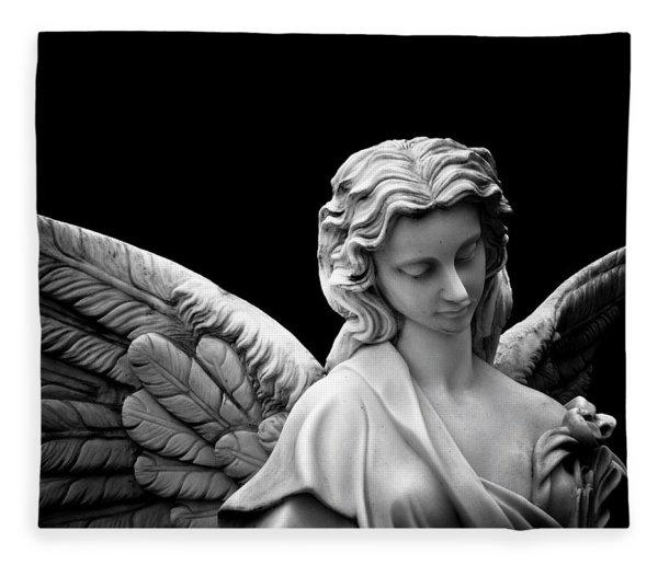 Dark Angel Fleece Blanket