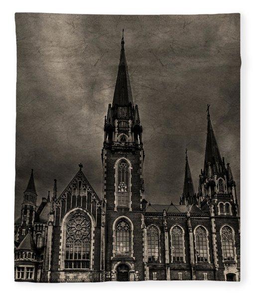 Dark Kingdom Fleece Blanket