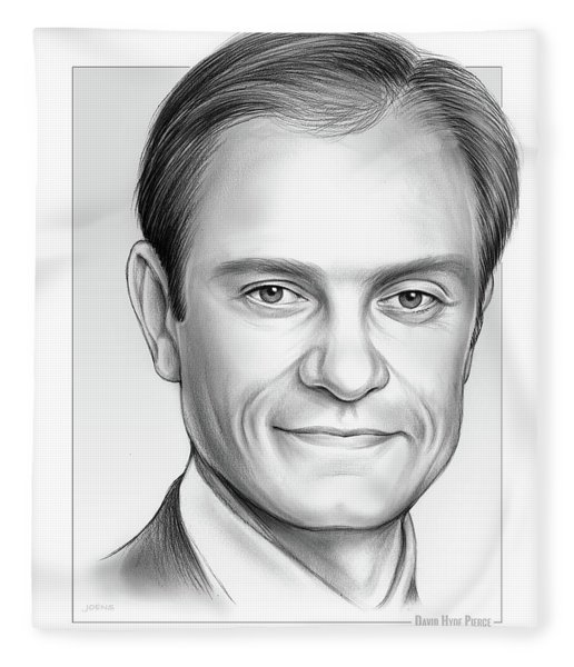David Hyde Pierce Fleece Blanket