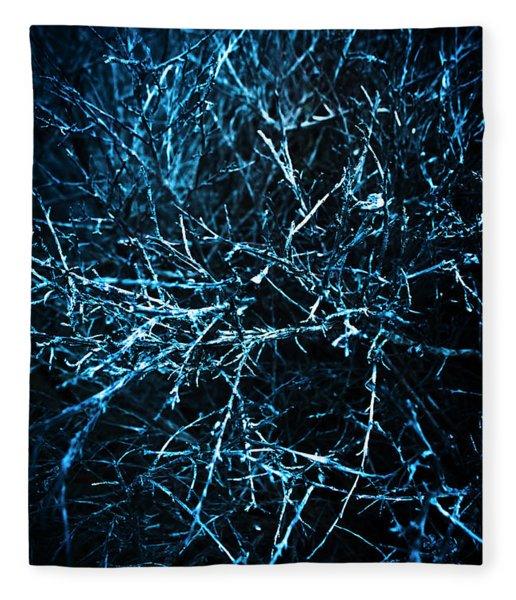 Dead Trees  Fleece Blanket