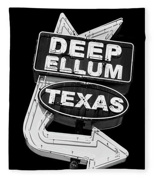 Deep Ellum Texas Fleece Blanket