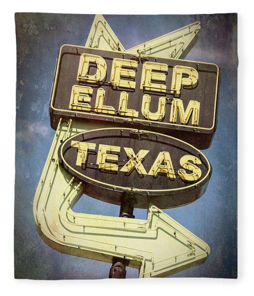 Deep Ellum Texas - #2 Fleece Blanket