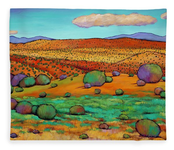 Desert Day Fleece Blanket
