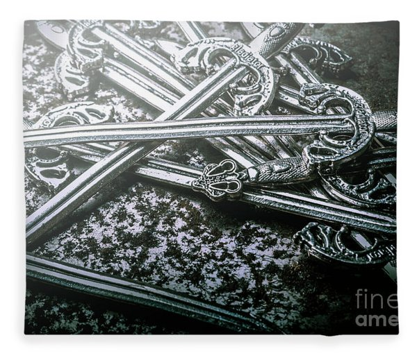 Distortions From Fables Conquered Fleece Blanket