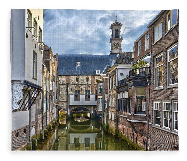 Dordrecht Town Hall Fleece Blanket