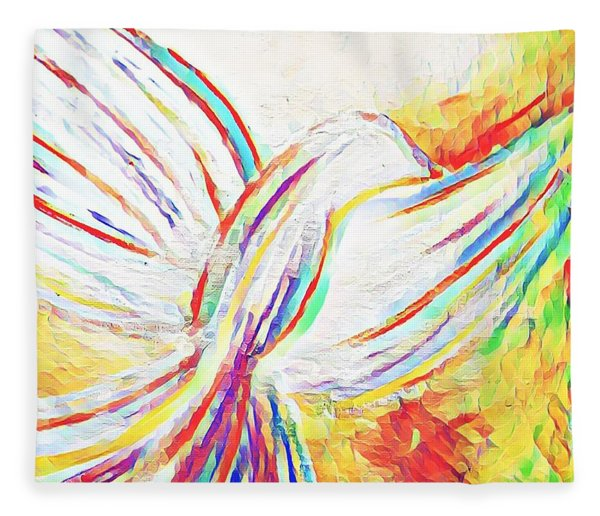 Holy Spirit Fleece Blanket