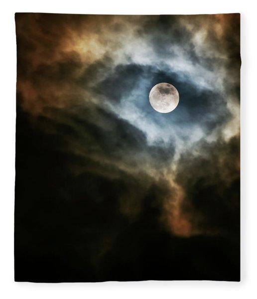 Dragon's Eye Fleece Blanket