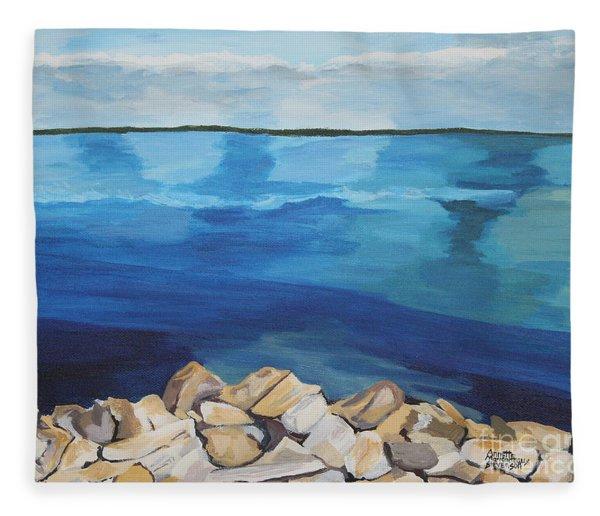 Dream Lake Fleece Blanket