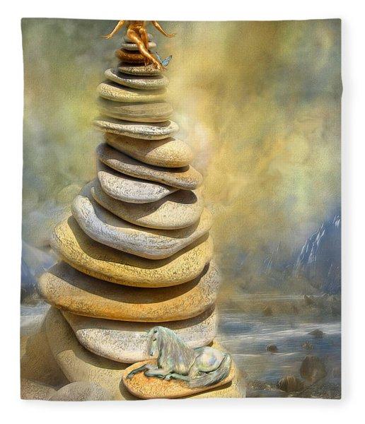Dreaming Stones Fleece Blanket