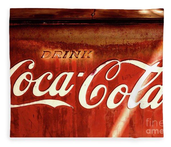 Drink Coca-cola Fleece Blanket