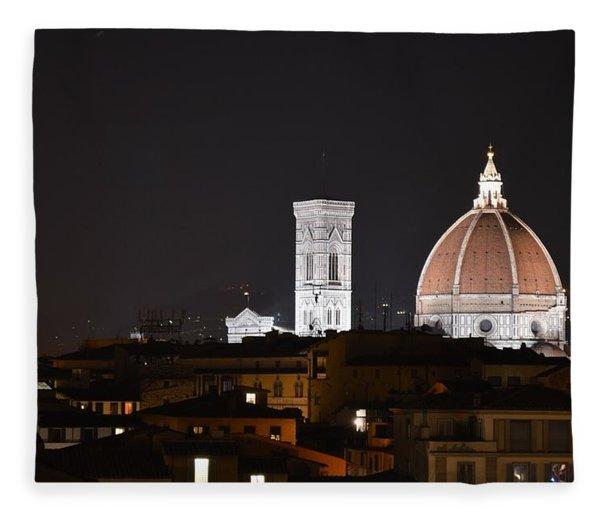 Duomo Up Close Fleece Blanket