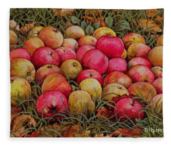 Durnitzhofer Apples Fleece Blanket