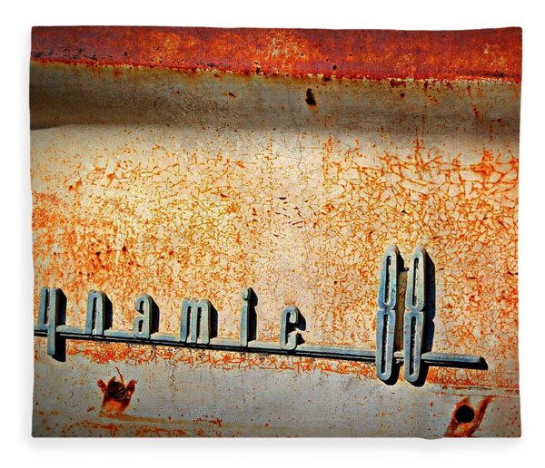 Dynamic Decay  Fleece Blanket