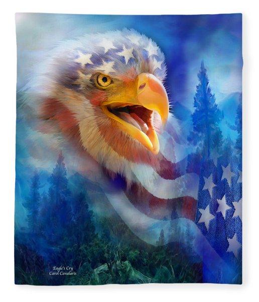 Eagle's Cry Fleece Blanket