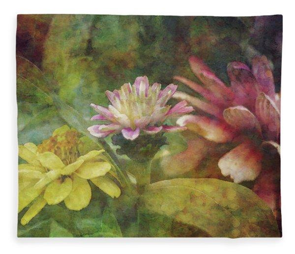 Early Summer Flowers 1304 Idp_2 Fleece Blanket