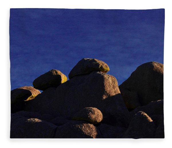 Earth And Sky Fleece Blanket
